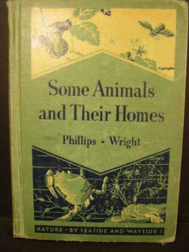 """Some Animals and Their Homes"" Vintage Published 1936 Antique Toys 