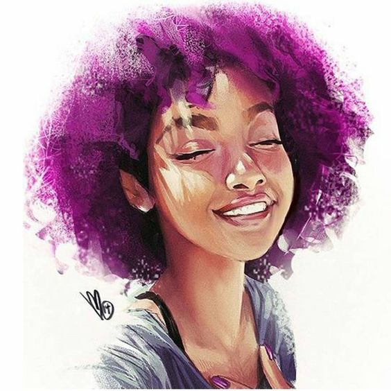 Яркий портрет