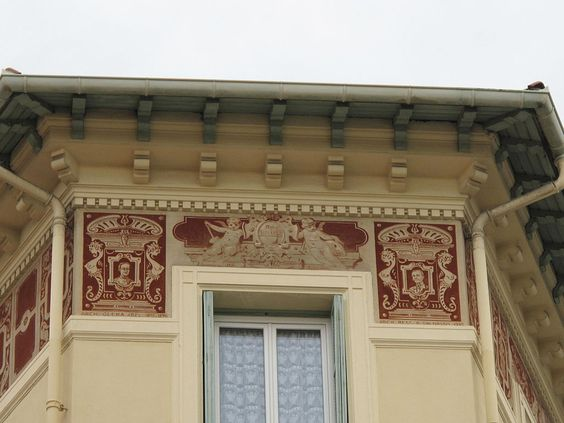 Fresques Maison Burkard