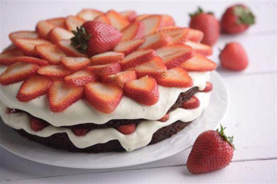 Summer Berry Chocolate Cake - Joy of Kosher