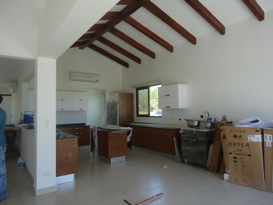 Interior of one of the homes in Pedasi!