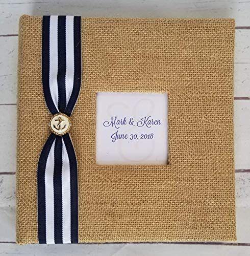 Best Selling Christmas Suspenders 2020 Best Seller Custom Nautical Photo Album   Holds 160 4x6 photos