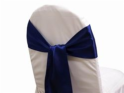 Satin Chair Sash