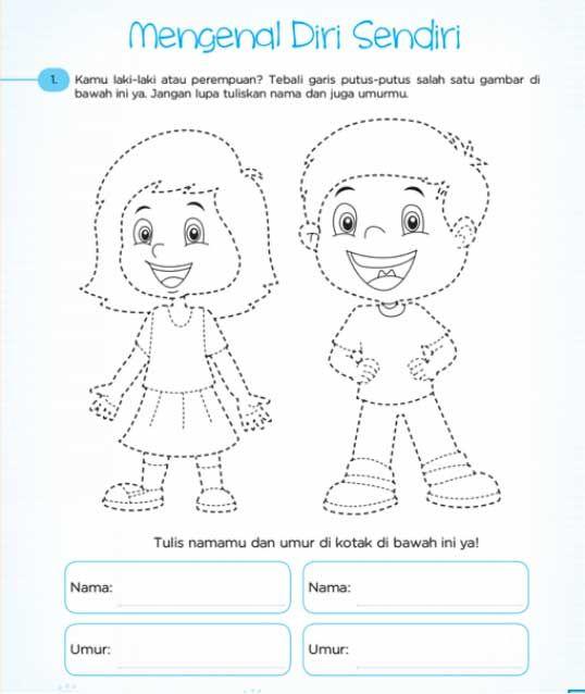 Gambar Mewarnai Untuk Anak 5 Tahun Dengan Gambar Gambar Anak