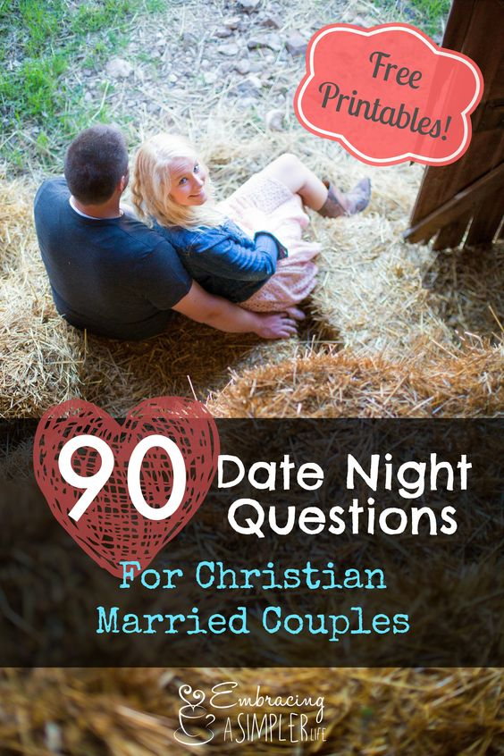 Good christian dating questions