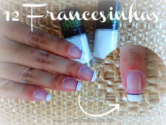 10 Francesinhas Diferentes Com Esmaltes Bella Brazil + Adornos Born Pretty Store + MeGusta