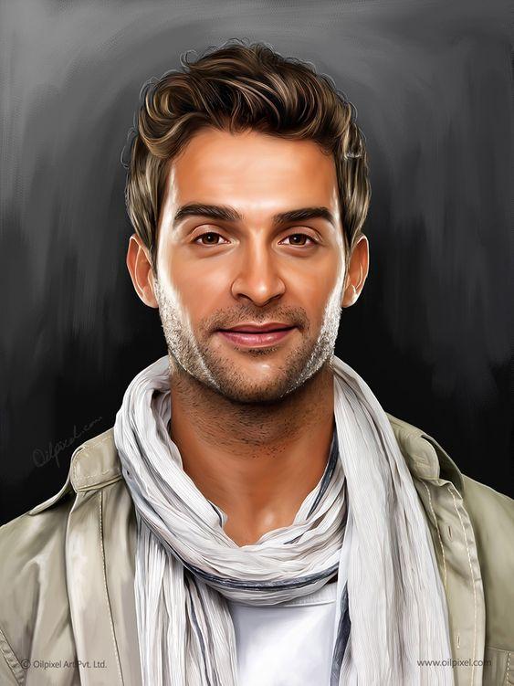 Individual/Self Digital Portrait Painting by Oilpixel Art Pvt. Ltd ...