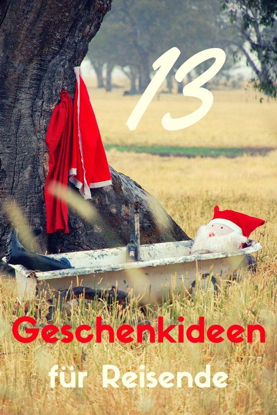 13 Geschenkideen für Reisende  Ich habe dir Geschenkideen für Reisende rausgesucht - Schaut mal rein!  http://weltkopfunter.de/13-geschenkideen-fuer-reisende/