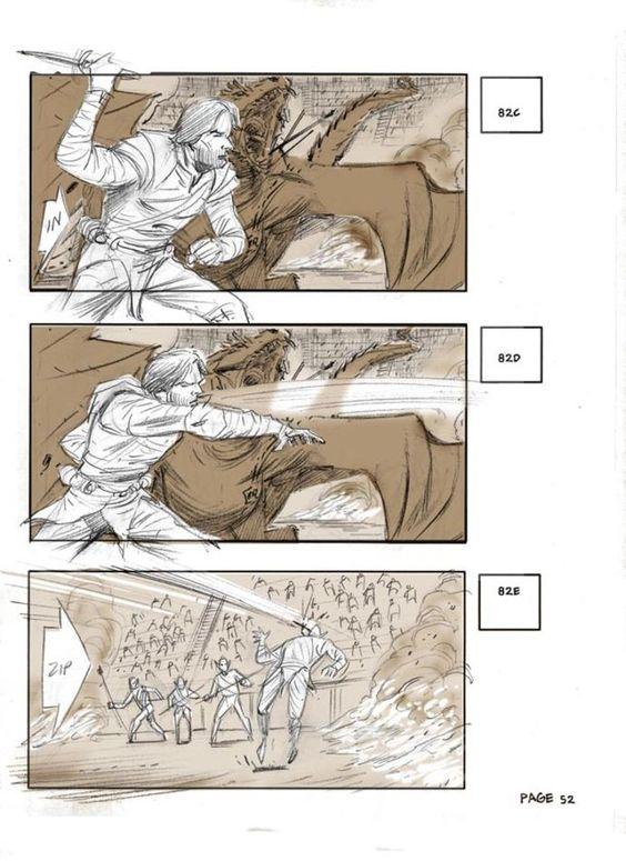 Forrest Gumpu0027 Storyboard Artist Chris Bonura Movie Storyboards - magazine storyboard