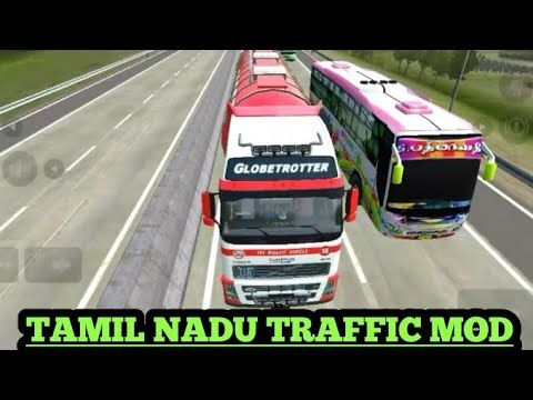 How To Download Tamilnadu Traffic Mod In Bus Simulator Indonesia Tamilnadu Traffic Mod Youtube Bus Games Traffic Simulation