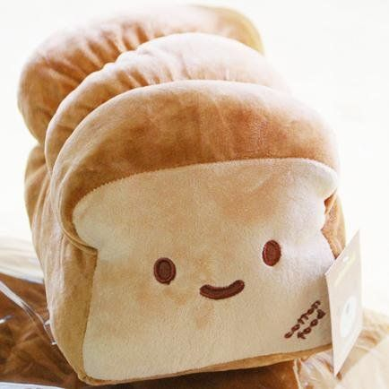 Kawaii bread by Cotton Food. I like it cause on the other side, its crying which makes me lol.