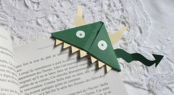 Origami facile : des marque-pages à faire soi même