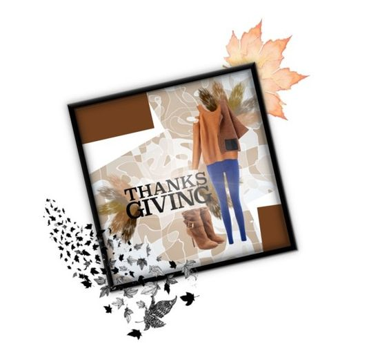 """""""Happy Thanksgiving!!!"""" by queenleoness ❤ liked on Polyvore featuring Burberry, contest, autumn, contestentry and thanksgiving"""