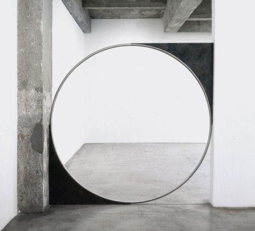Circles Mirror And Minimalism On Pinterest