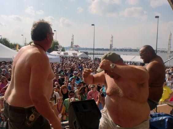 National Harbor Oktoberfest - Beer Belly Contest 2012 ...