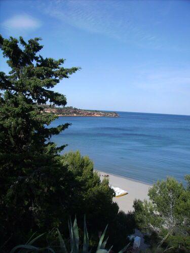 Plage de Cap Roig, l'Ampolla, provincia de Tarragona