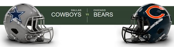 * Chicago Bears at Dallas Cowboys AT&T Stadium — Arlington, TX on Sun Sep 25 at 7:30pm, From $40.00
