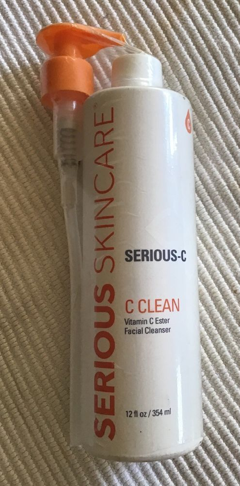 Serious Skincare C Clean Vitamin C Ester Facial Cleanser 16 Oz Serious C New Ebay Skin Care Facial Cleanser Moisturizing Body Wash