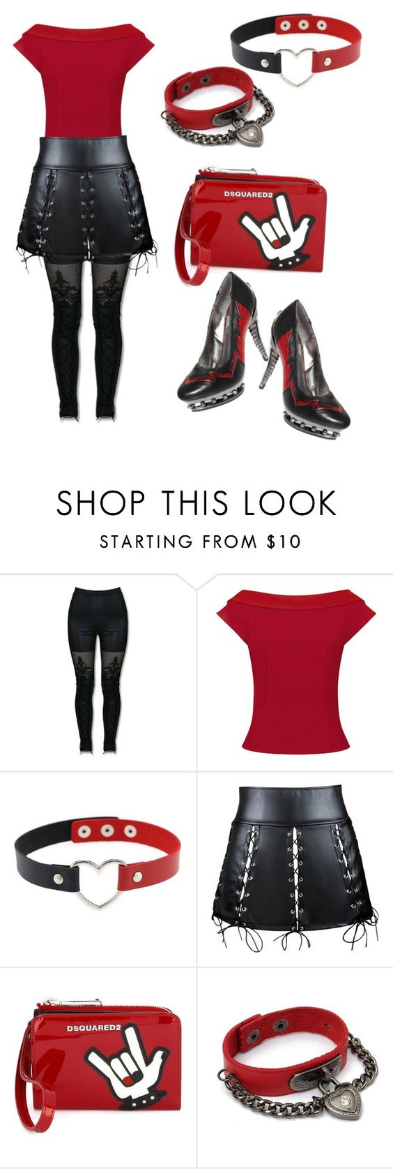 """Untitled #1288"" by twil24 ❤ liked on Polyvore featuring MACBETH and Dsquared2"