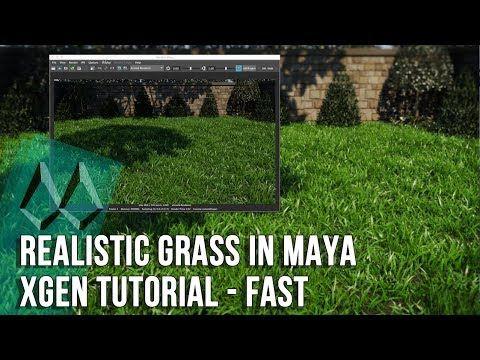 Maya Grass Tutorial: How To Create Realistic Grass In Maya
