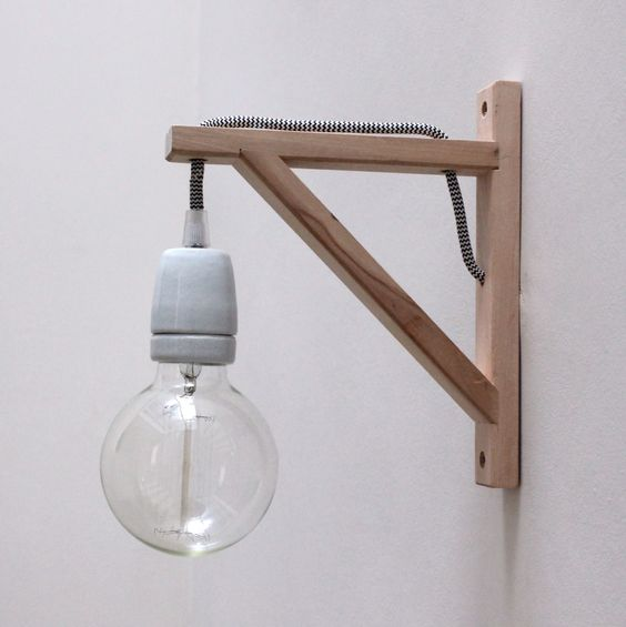 Not 2 late to craft: Llums de paret DIY / DIY wall lights