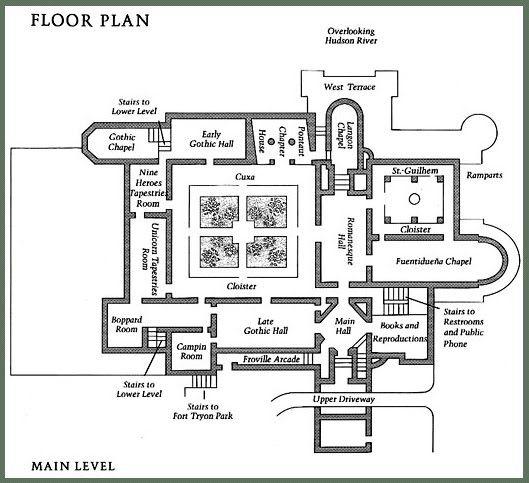 cloisters plan - Google Search