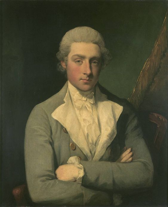 Through the looking glass...Gilbert Stuart..At the time he painted this self-portrait, the American artist Gilbert Stuart was based in London and was a rising star in the art world...circa 1785...  From...http://www.tate.org.uk/art/artworks/stuart-self-portrait-n05612#