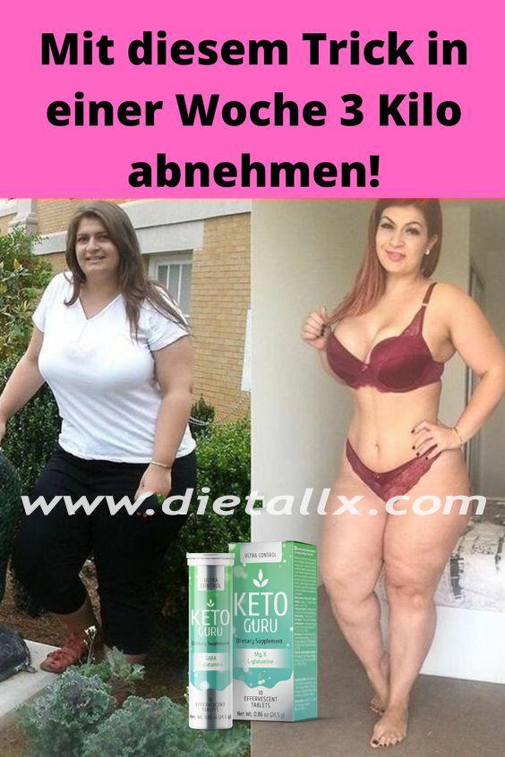 3 Kilo in einer Woche ohne Diät verlieren