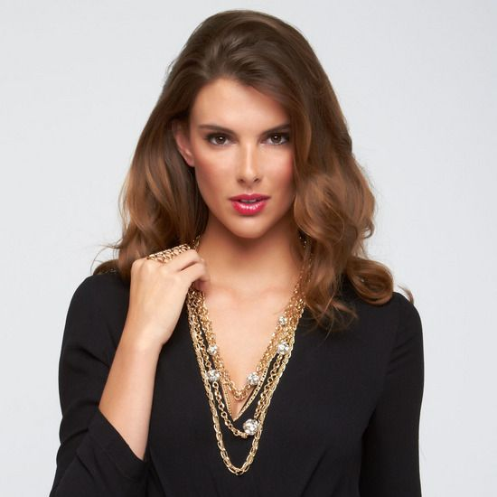 JUMP THE FENCE necklace and statement ring