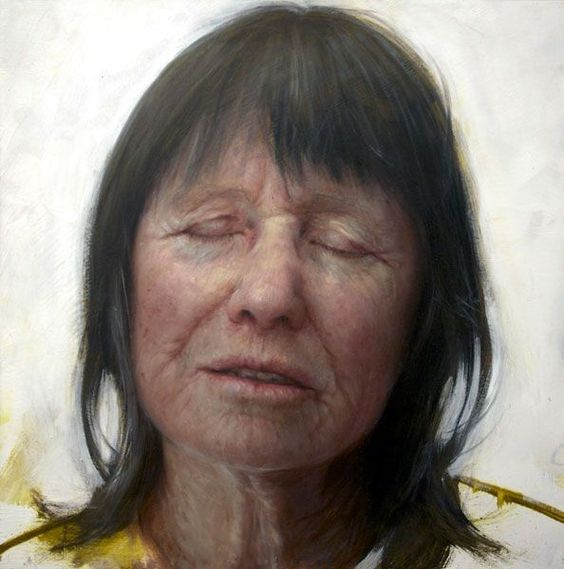 Nudo di anziana: i quadri di Aleah Chapin | Woman painting ...