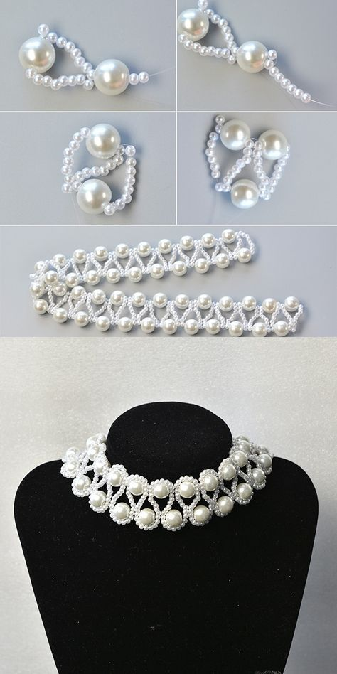 Like the pearl beaded necklace? The tutorial will be published by LC.Pandahall.com