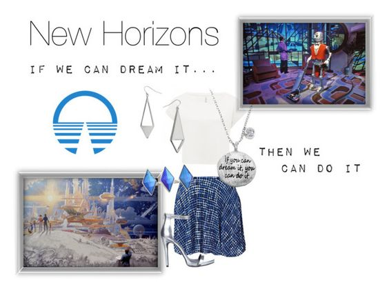 """New Horizons"" by samosaurus2014 ❤ liked on Polyvore featuring Love 21, Forever New, Disney, Atmos&Here, Eternally Haute, Miss Selfridge and GUESS"