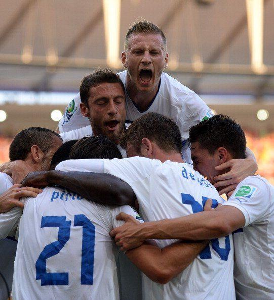 Copa Confederaciones: Los rostros de la felicidad italiana