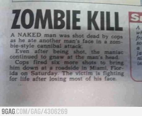 BE PREPARED ! We're getting invaded!! #zombies