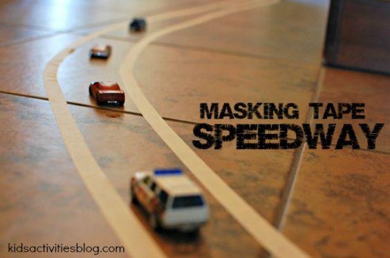 masking tape speedway