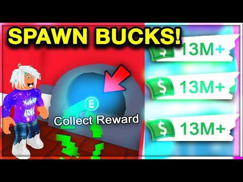 Spawn 10 Million Bucks In 5 Minutes Free New Glitch Get Rich In Adopt Me Roblox Youtube In 2020 How To Get Rich My Roblox Roblox