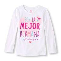 Long Sleeve 'Soy La Mejor Hermana Por Siempre'