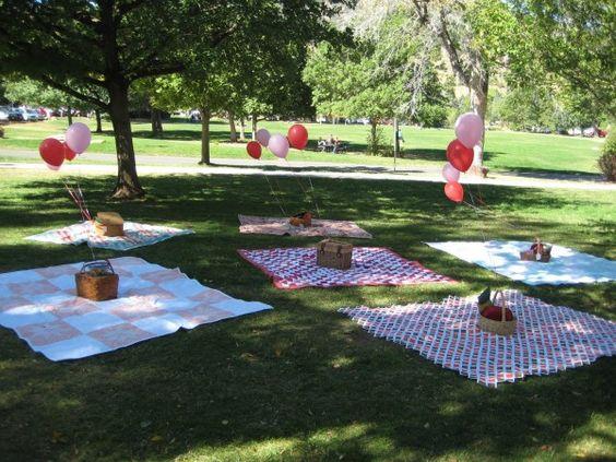 Organiser sa baby shower dans un parc