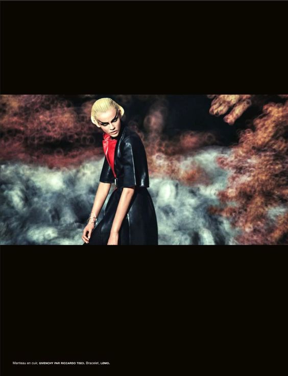 """Into the Wild"" : Ginta Lapina : Numéro #137 October 2012 : Sebastian Kim"