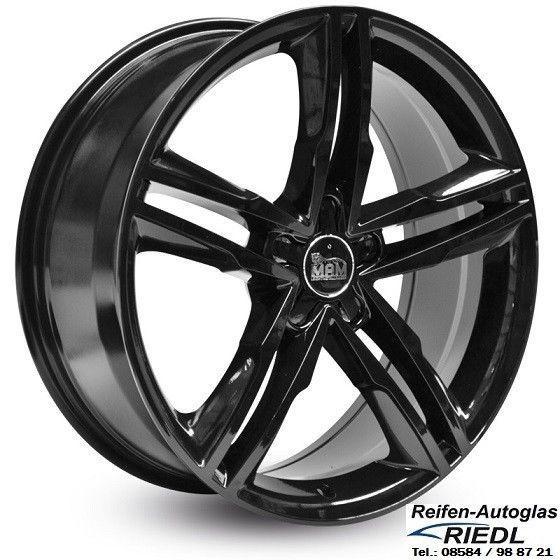 4x Alloy Wheels Mam A1 18 Inch 8jx18 Et42 Lk 5 112 Audi Vw