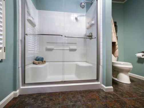 Run My Renovation A Master Bathroom Designed By You Home Improvement Diy Network Downstairsbathroom Downstairs Bathroom Master Bathroom Bathroom Shower Doors Master Bath Shower