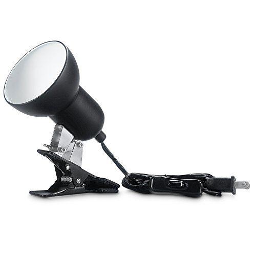 Hoke Clamp Lamp Fixture For Reptiles Heat Lamp Habitat Lighting Holder Stand Clamp Lamp Lamps Fixtures Lamp