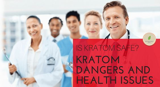 What are #kratom #health #risks?