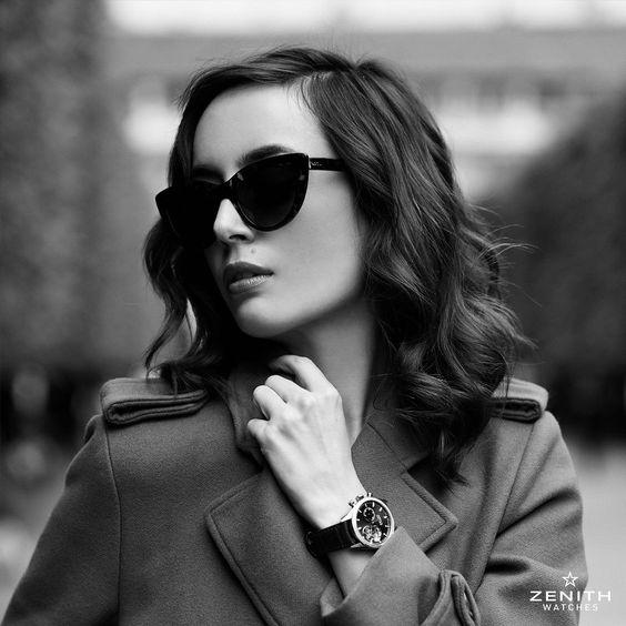 Photo @paulinedarley for @zenithwatches with @louisepando #paulinedarley #zenithwatches #misspandora #louiseebel #paris #parisianchic #laparisienne