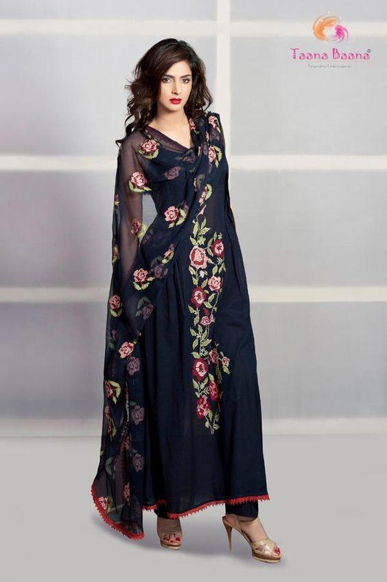 Beautiful Taana Baana Lawn Suits For EID Stylish Party Dresses ...
