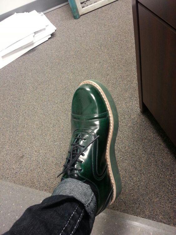 I've got them on today.