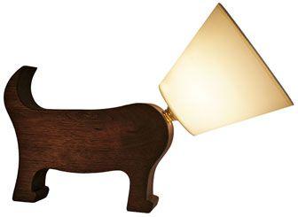 dog lovers unite!; modern; creative lamp