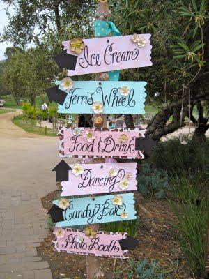 signage wheels outdoor weddings ideas outdoor fun dancing outdoor ...