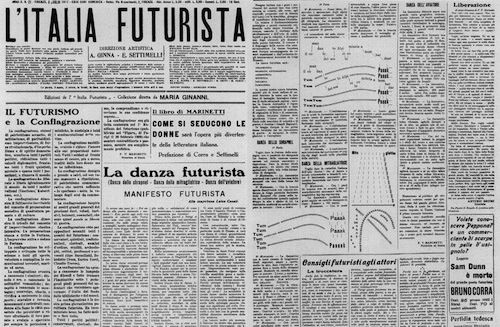 Interviewing Marjorie Perloff About Italian Futurism & the 'Futurist Poetic'