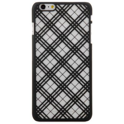 $1.87 (Buy here: http://appdeal.ru/aeg8 ) Practical PC Material Grid Pattern Protective Back Case for iPhone 6 Plus  -  5.5 inches for just $1.87